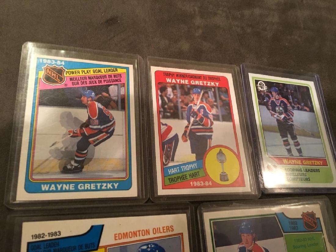Wayne Gretzky 1980's OPC Card Lot Nice Lot - 3