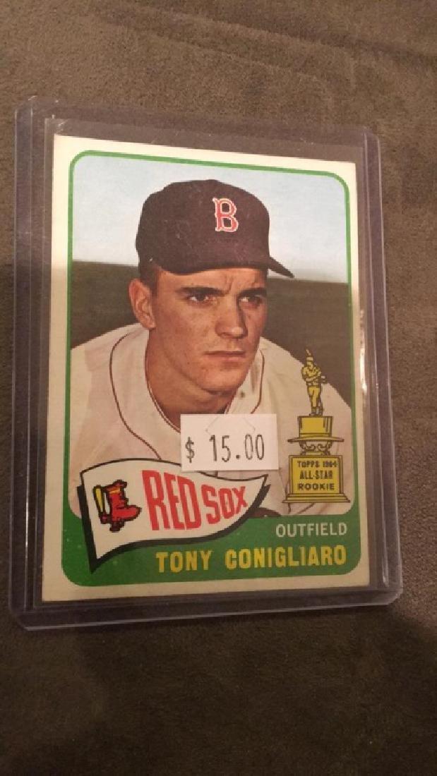 Tony Conigliaro 1965 tops All-Star rookie card