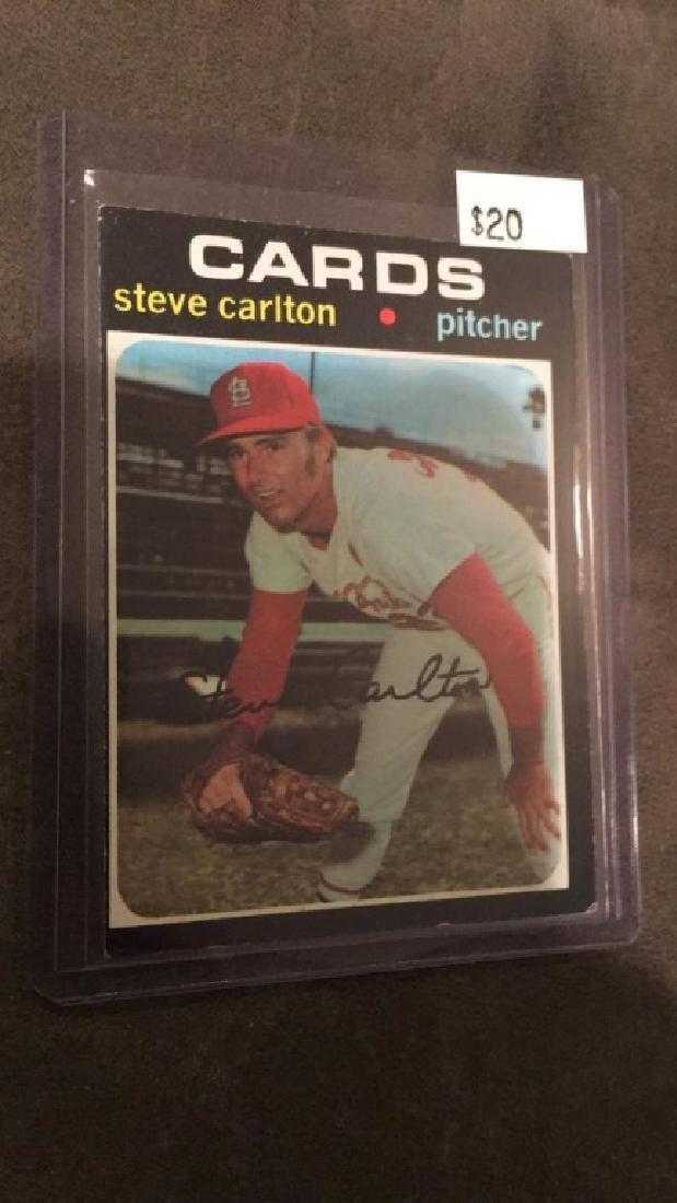 Steve Carlton 1971 Topps vintage card nice