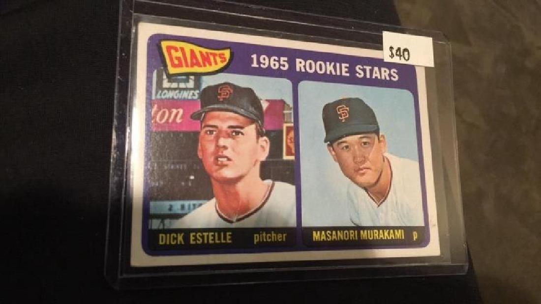 1965 tops dick Estelle and Masanori Murakami RC