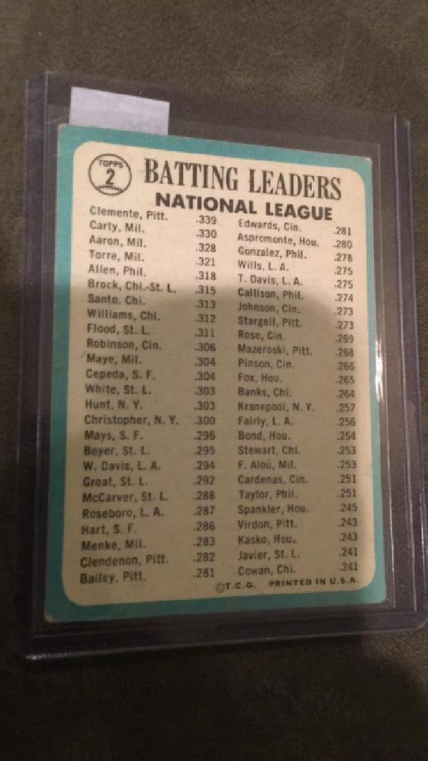 1964 batting leaders Roberto Clemente Hank Aaron - 2