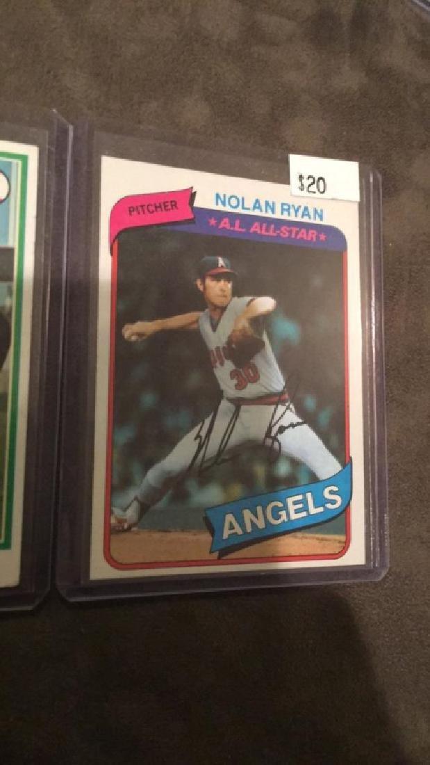 Nolan Ryan 1978 in 1980 topps vintage baseball - 3