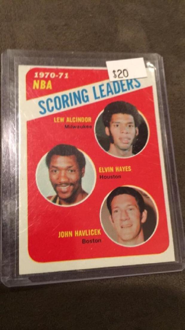 197- 71 NBA scoring leaders Lew Alcindor Elvin