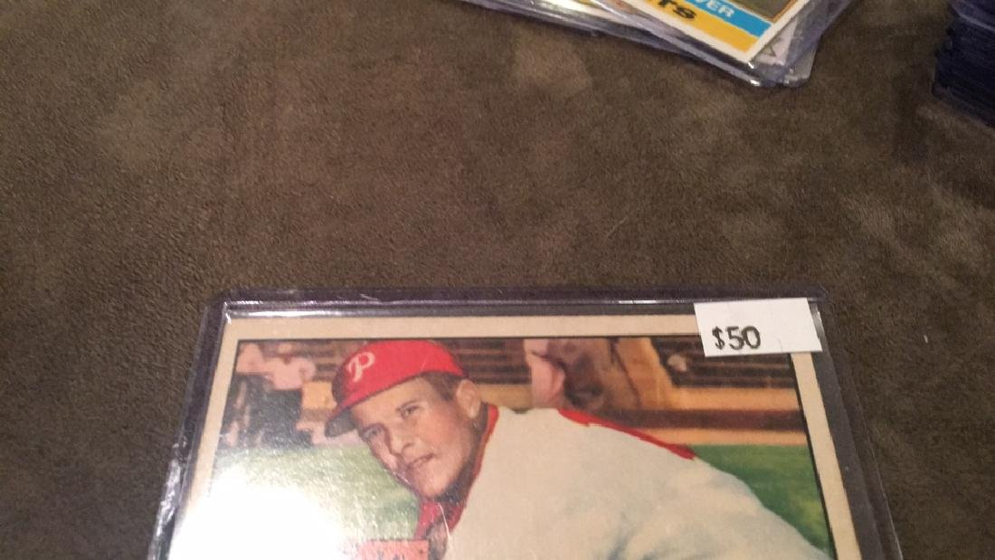 Connie Ryan 1952 topps in nice condition this is a - 3