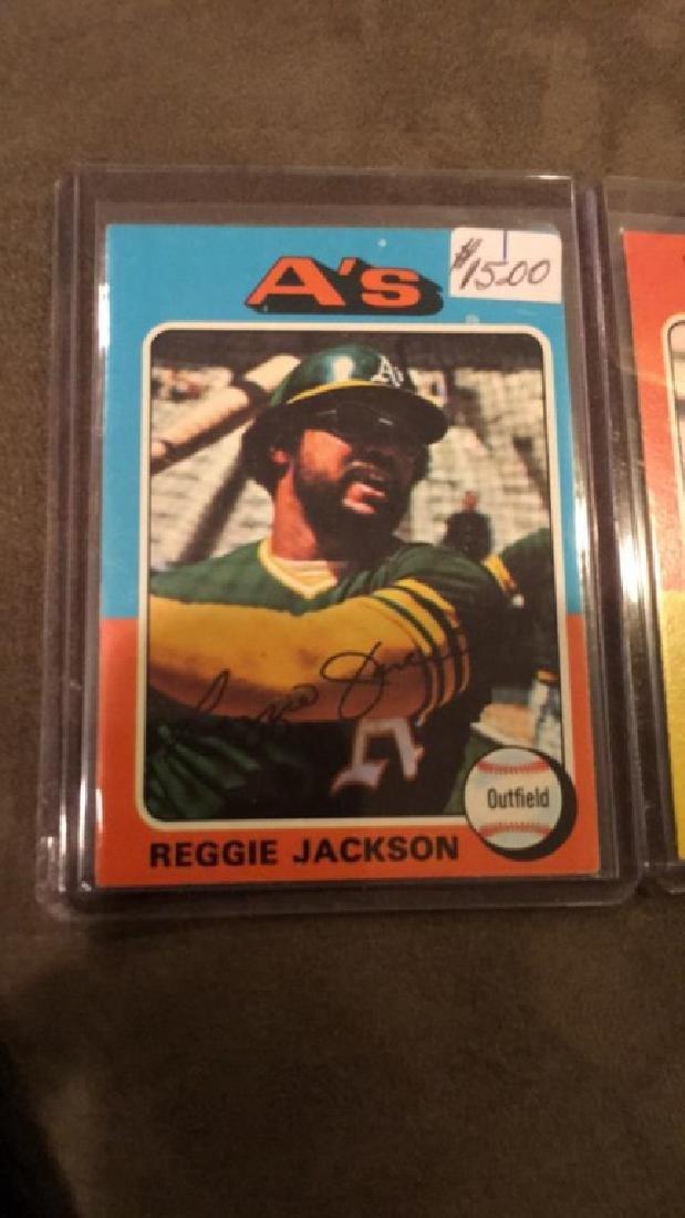 1975 topps Reggie Jackson and Tom Seaver lot nice - 3