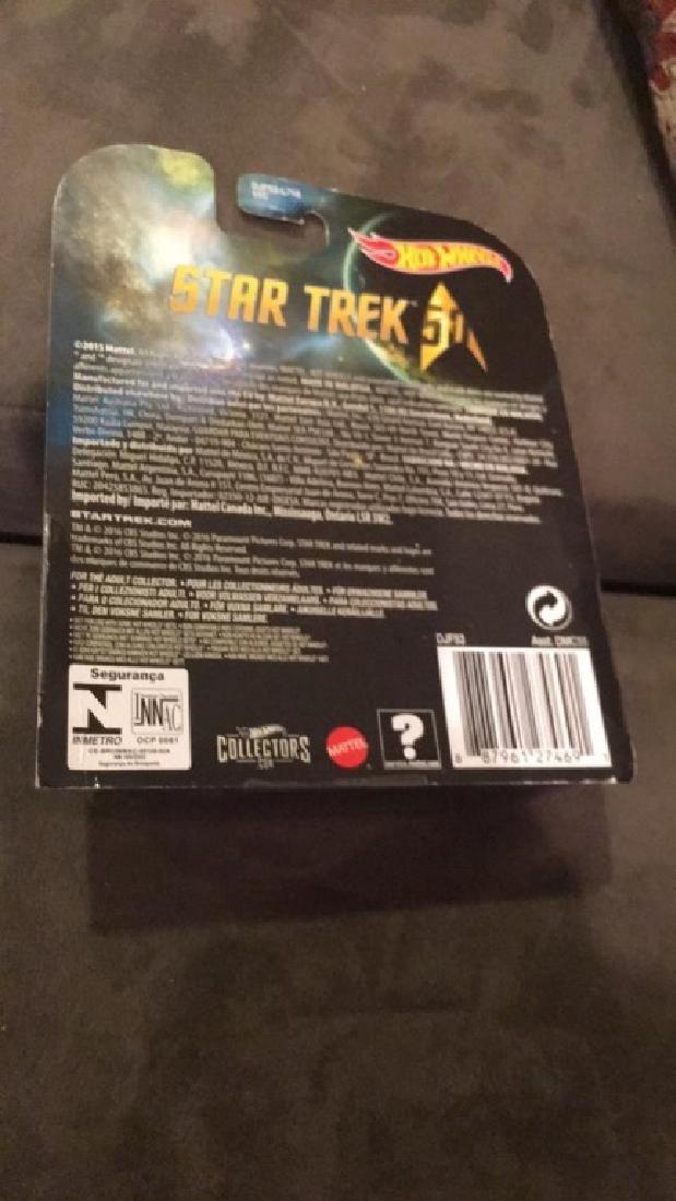 Hot wheels Star Trek USS enterprise in CC +IBM 1701 - 2