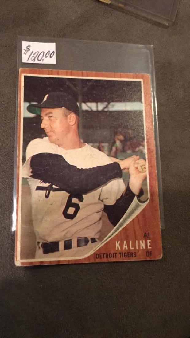 Al Kaline 1962 Topps Vintage Card