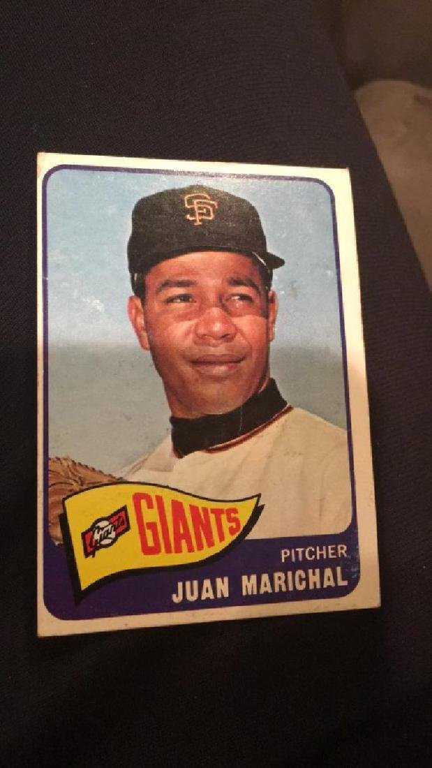 Juan Marichal 1965 Topps