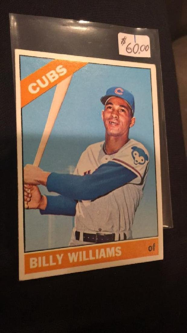 Billy Williams 1966 tops high number number 580 - 2