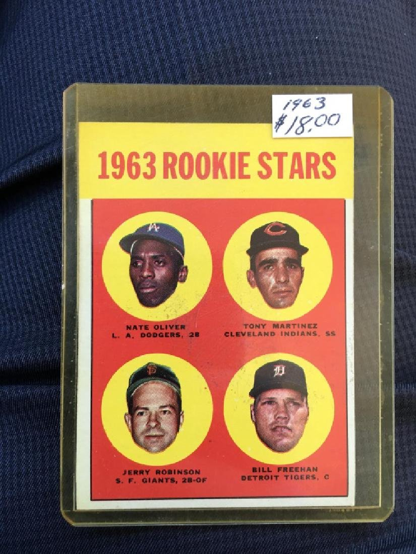 1963 ROOKIE STARS (BILL FREEHAN) 1963 TOPPS #466 #