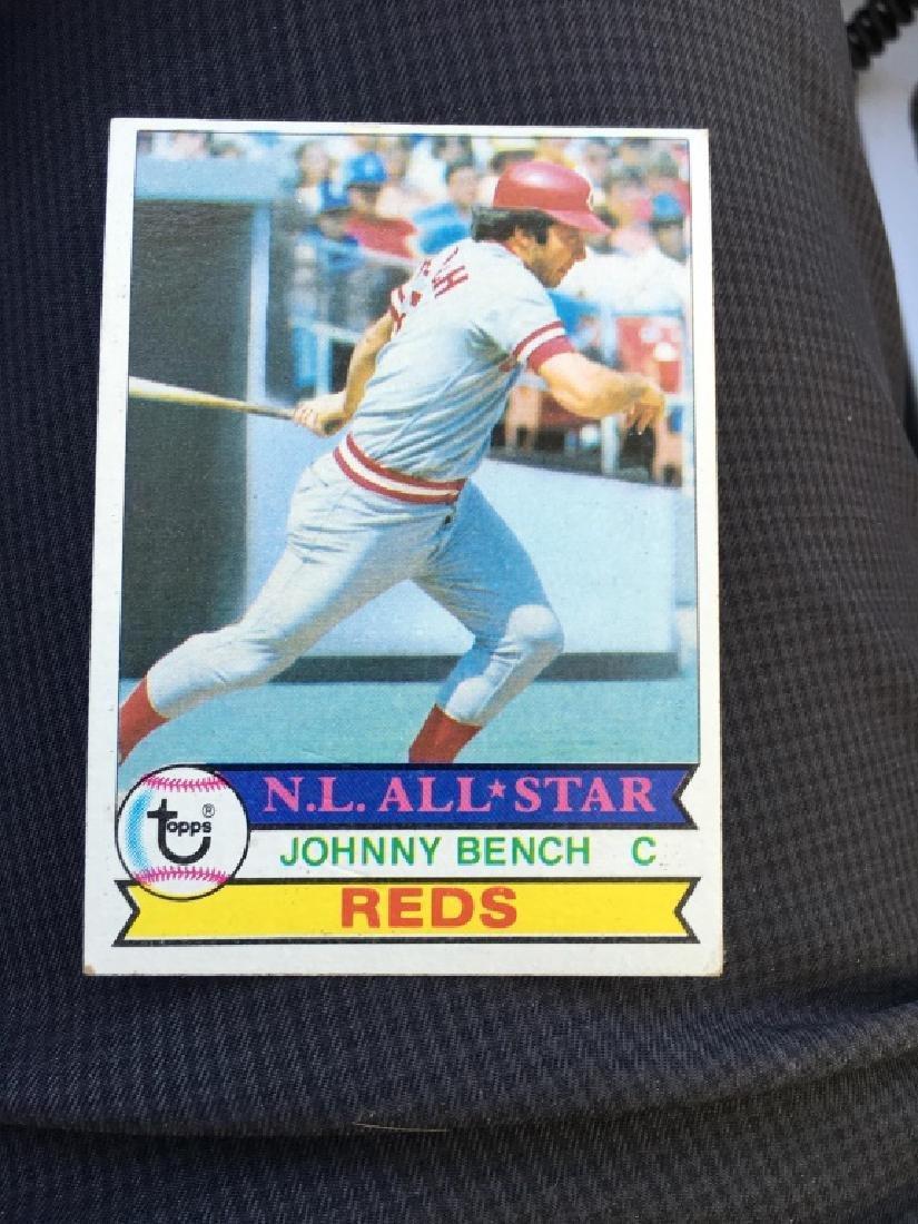 Johnny Bench 1979 Topps