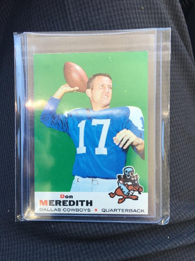 1969 TOPPS FOOTBALL #75 DON MEREDITH COWBOYS NRMT! - 2