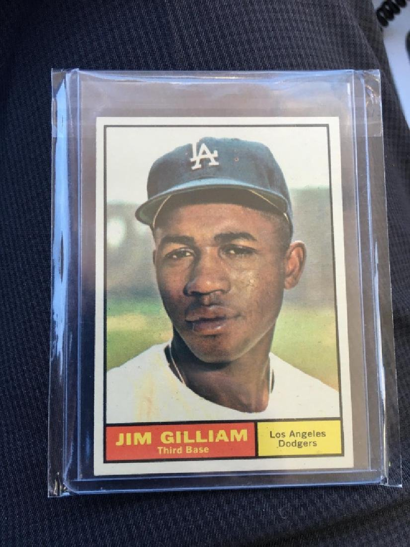 1961 TOPPS CARD#238 JIM GILLIAM