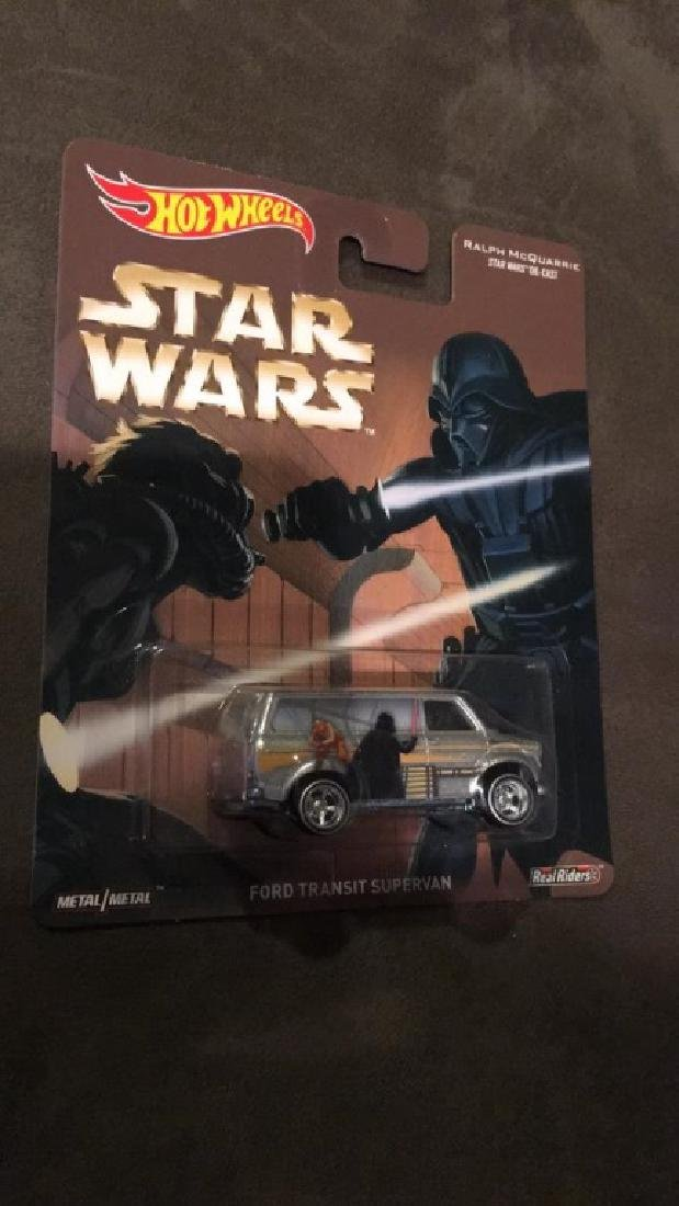Star Wars hot wheels Ford transit supervan