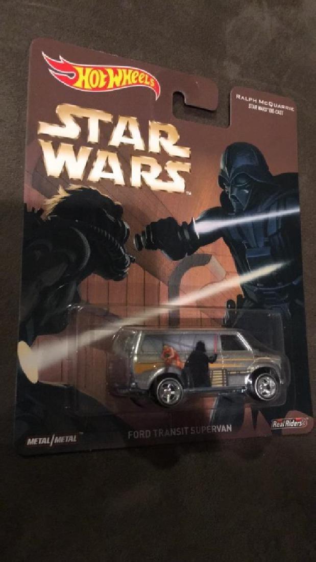 Star Wars hot wheels Ford transit supervan - 2