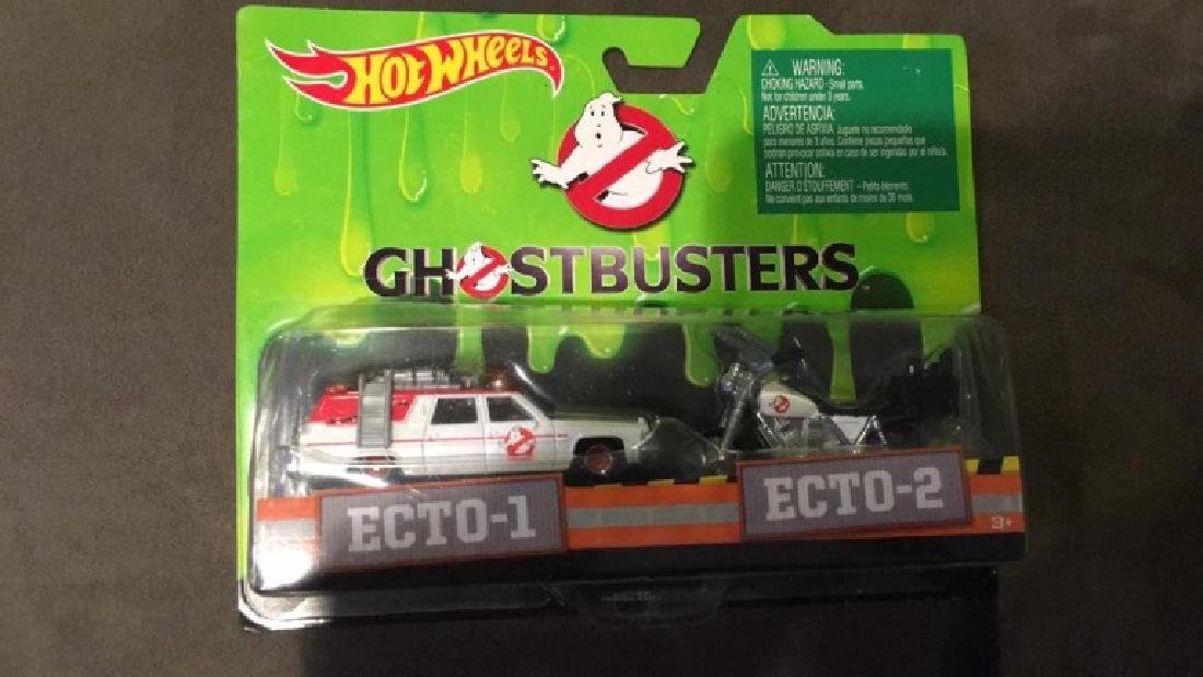 Hot wheels Ghostbusters Ecto 1 Ecto 2