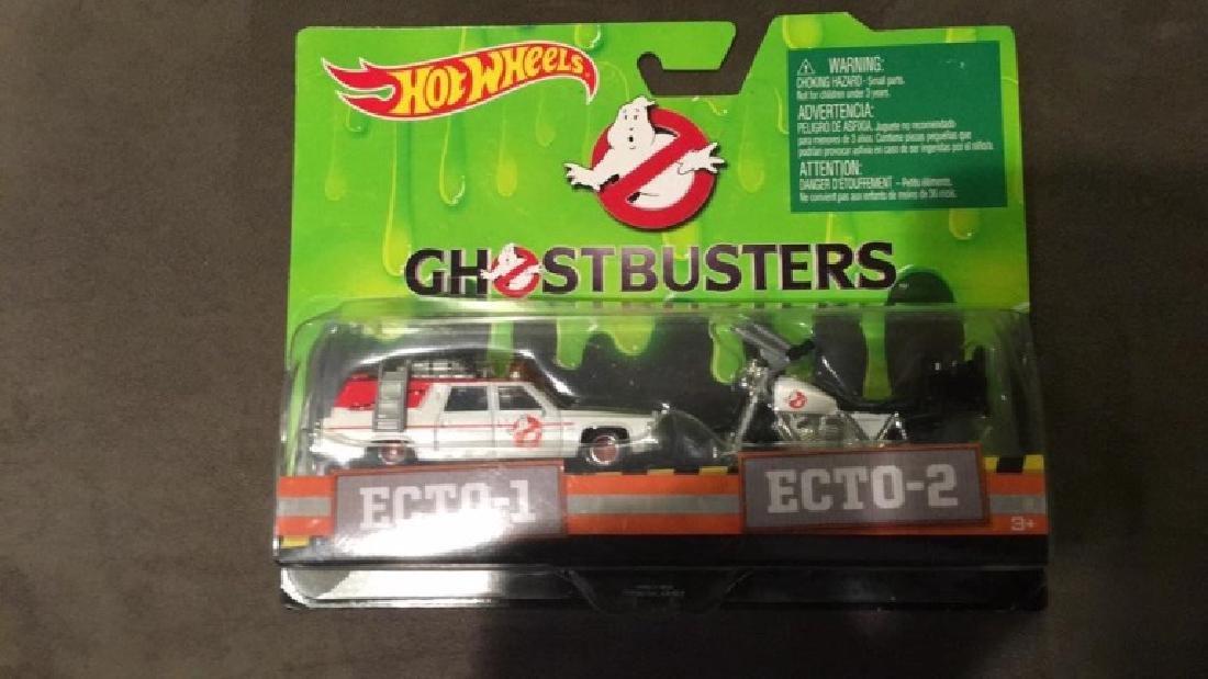Hot wheels Ghostbusters Ecto 1 Ecto 2 - 2