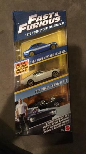 Fast and furious three car collection 1970 Ford