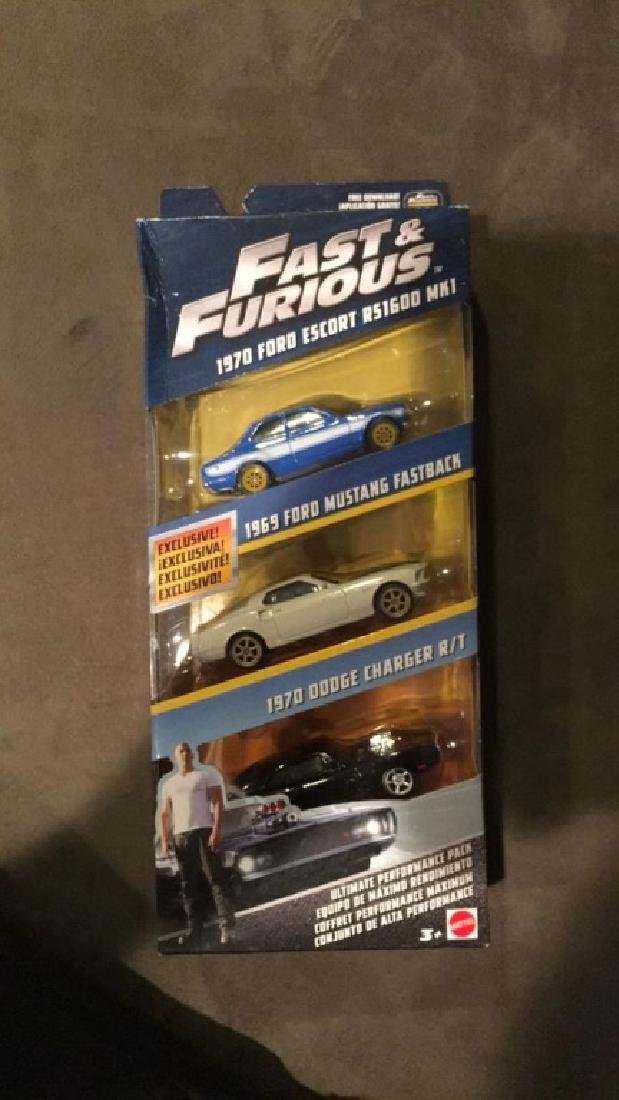 Fast and furious three car collection 1970 Ford - 2