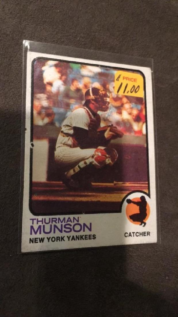 Thurman Munson 1973 tops