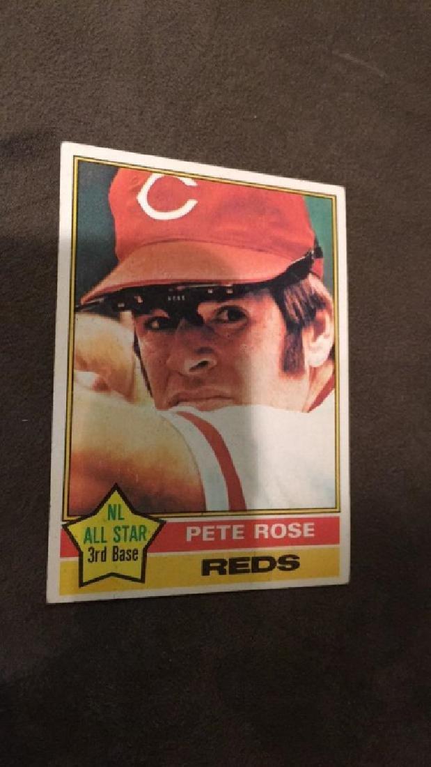 Pete Rose 1976 tops