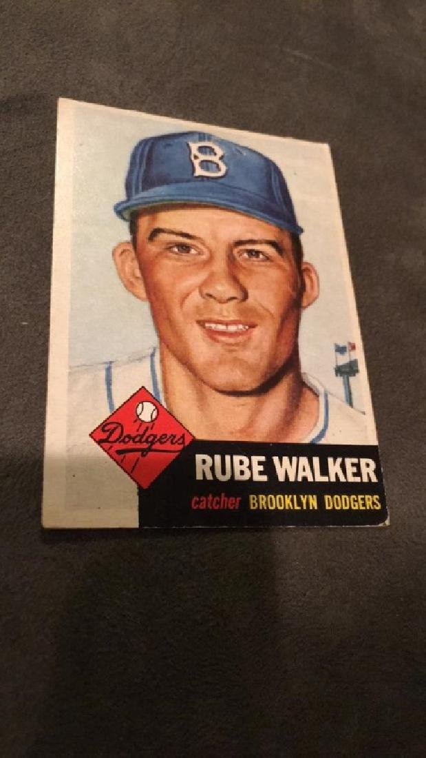 Rube Walker 1953 Topps