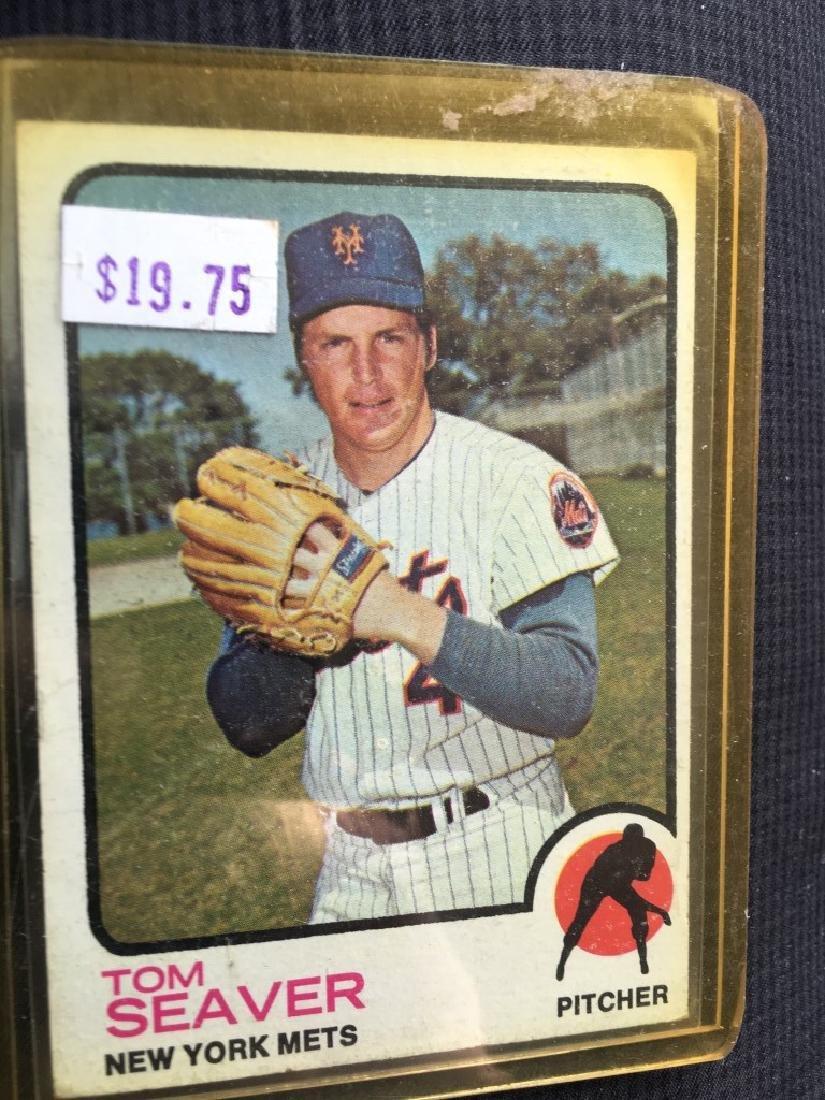 1973 TOPPS BASEBALL #350 TOM SEAVER New York Mets