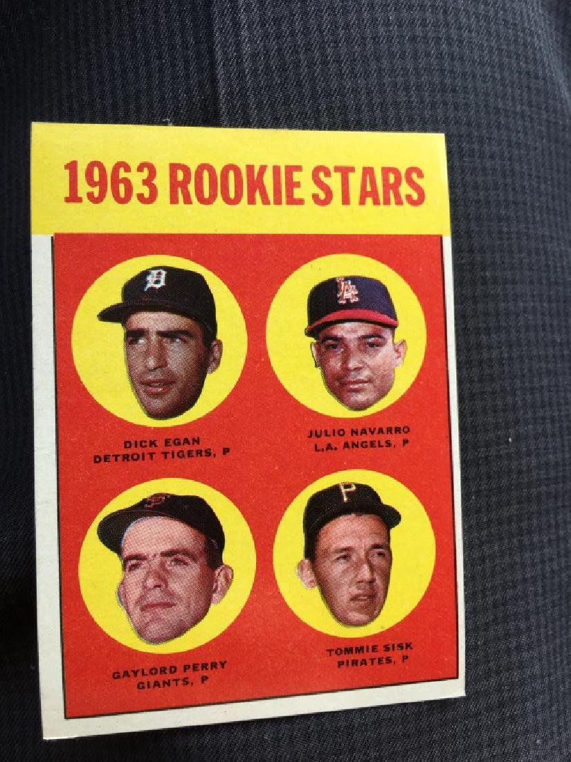 1963 Topps Rookie Stars(Gaylord Perry) Set Break 9