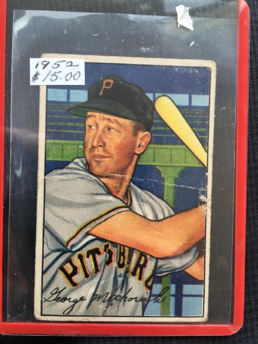 1952 Bowman #108 George Metkovich