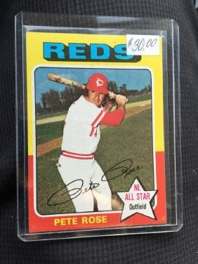 1975 Topps PETE ROSE #320