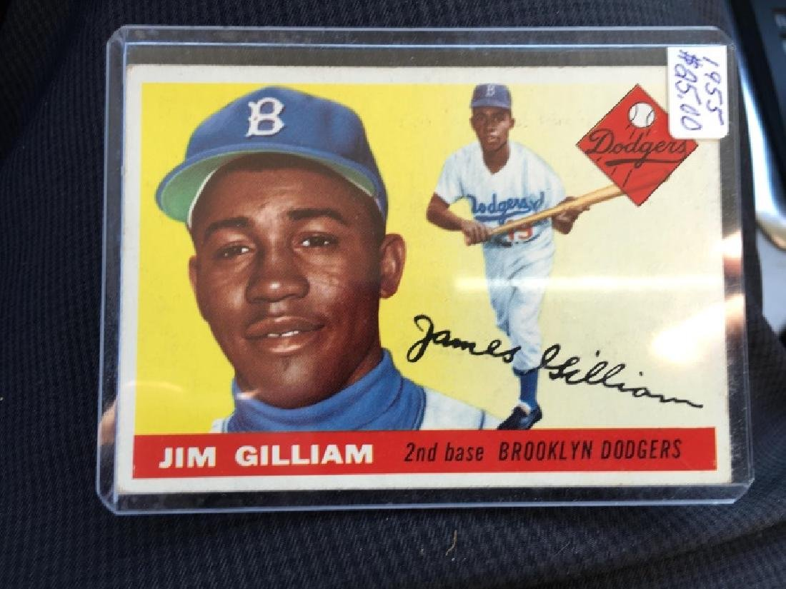 1955 Topps Jim Gilliam #5