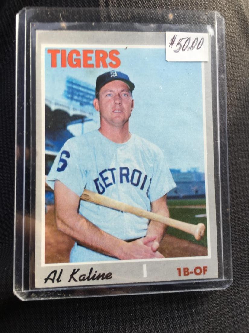 AL KALINE 1970 TOPPS #640 - HI # - DETROIT TIGERS