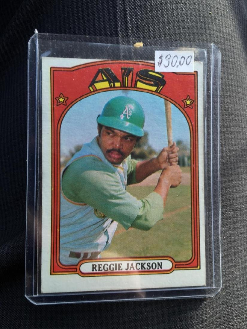Reggie Jackson 1972 Topps