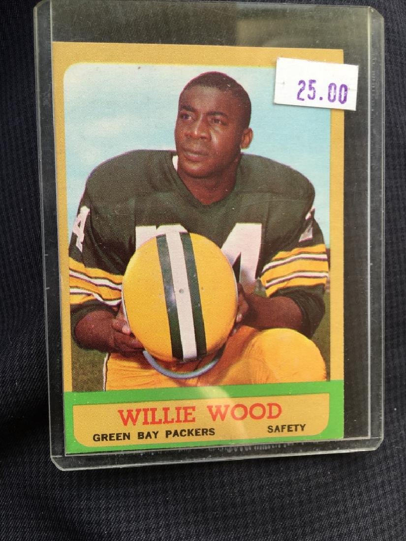 1963 Topps #95 Willie Wood RC - Packers