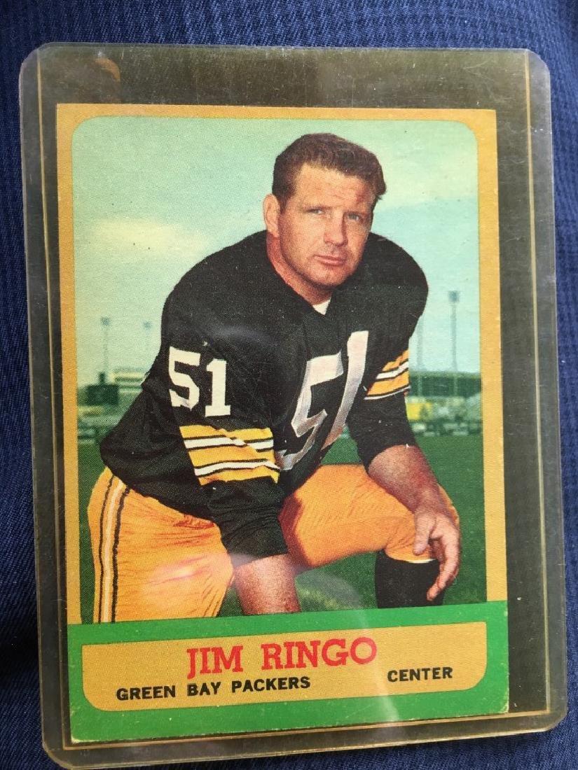 1963 Topps Football Jim Ringo #91