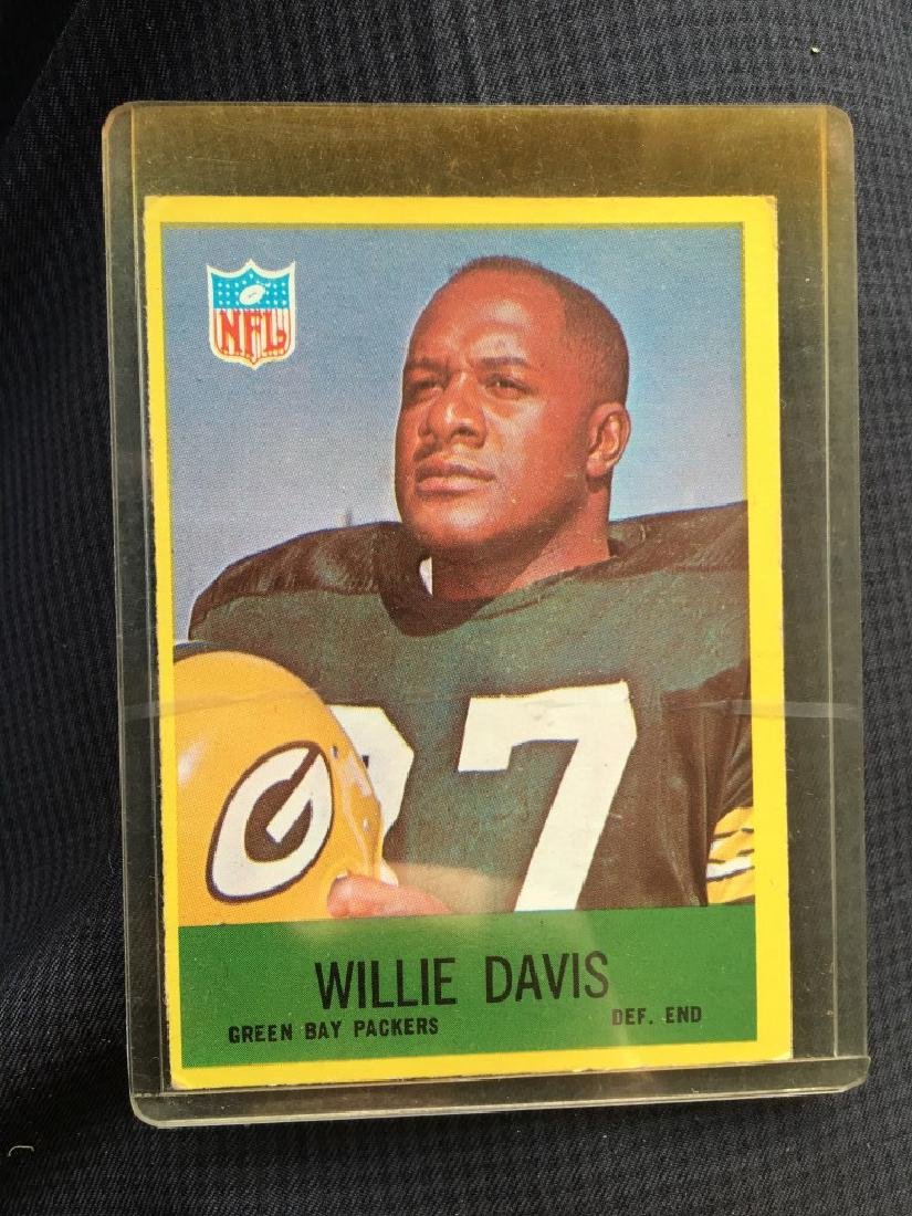 1967 Philadelphia Football Willie Davis #76