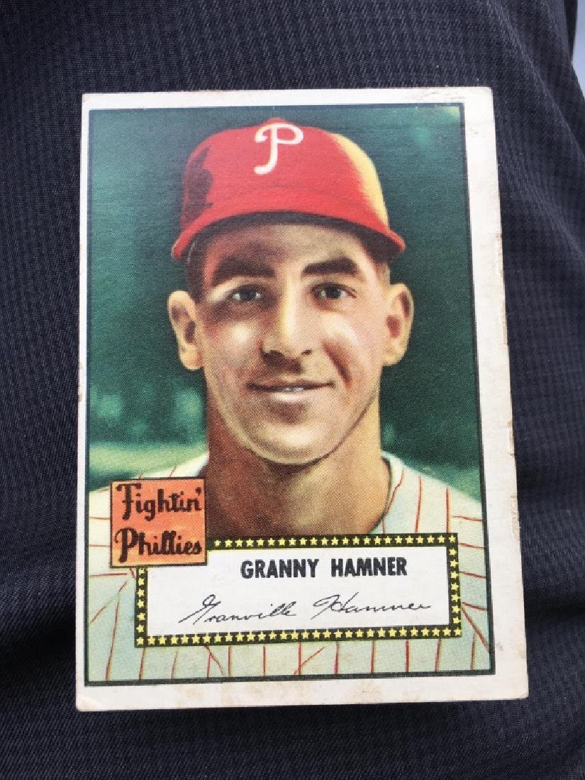 1952 TOPPS #221 GRANNY HAMMER EX PHILLIES RED BACB