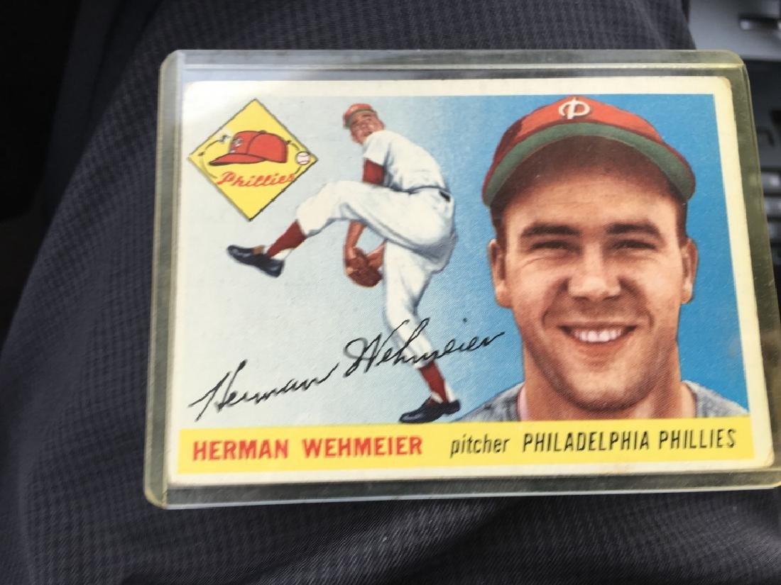 1955 Topps #29 HERMAN WEHMEIER Philadelphia Phills