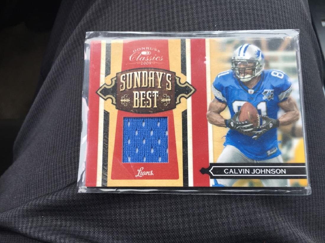 2009 Donruss Classics Sunday's Best Calvin Johnson