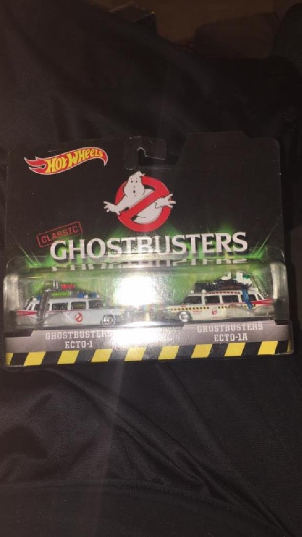 Classic Ghostbusters ecto1 and Ecto 1a - 2