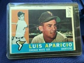 Luis Aparicio HOF 1960 Topps # 240