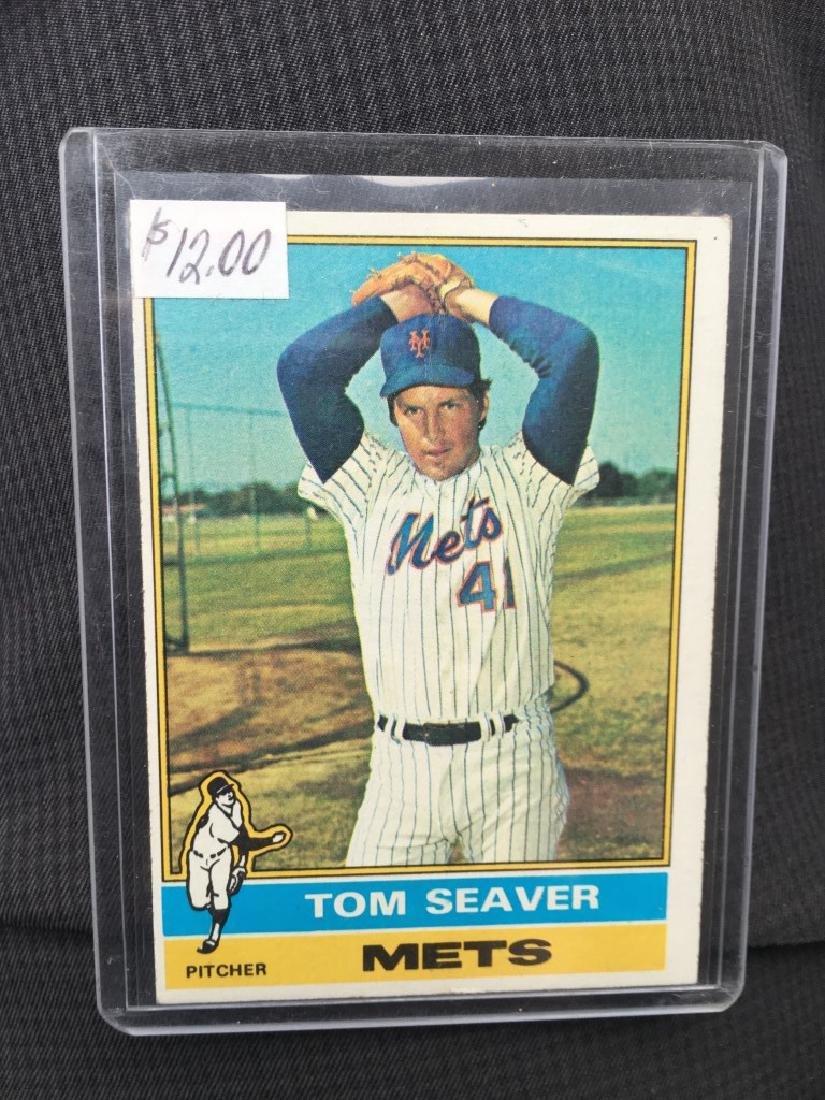 1976 TOPPS #600 TOM SEAVER