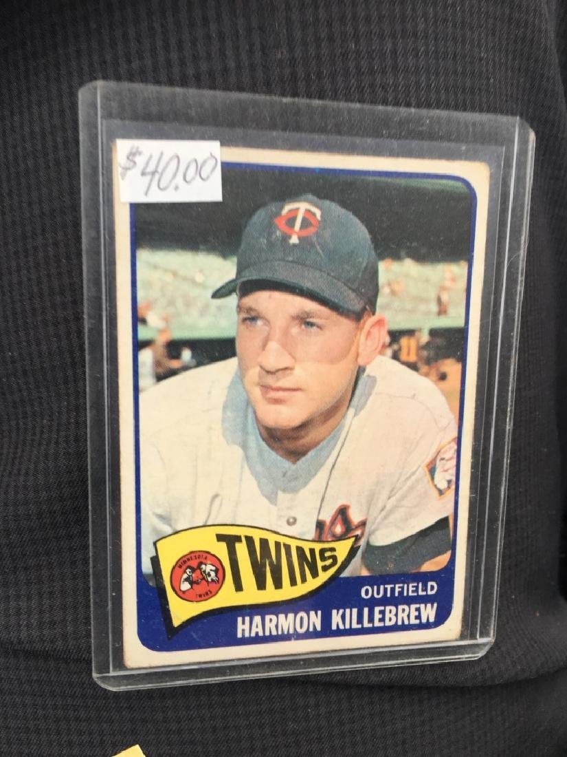 1965 Topps Harmon Killebrew #400 (Hall of Fame) Ts