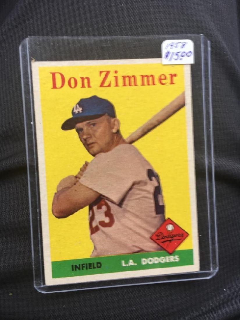 Topps 1958 #77 Don Zimmer