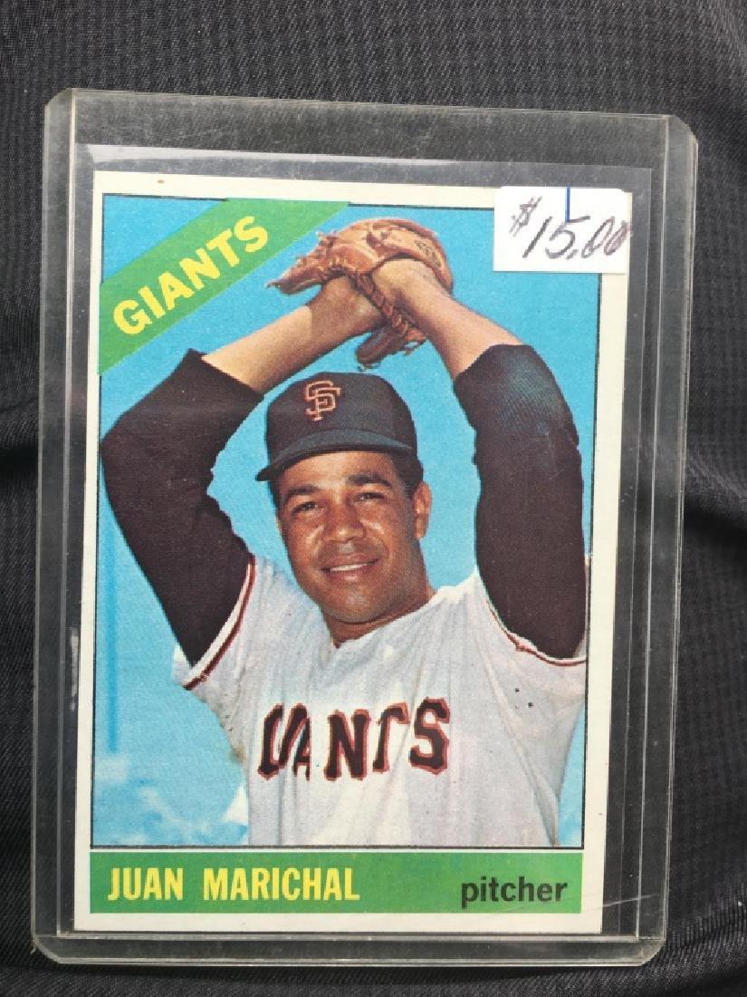 1966 Topps Baseball #420 JUAN MARICHAL