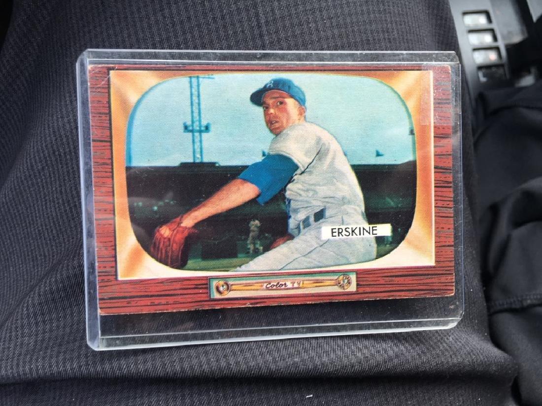 1955 Bowman Set Break #170 Carl Erskine