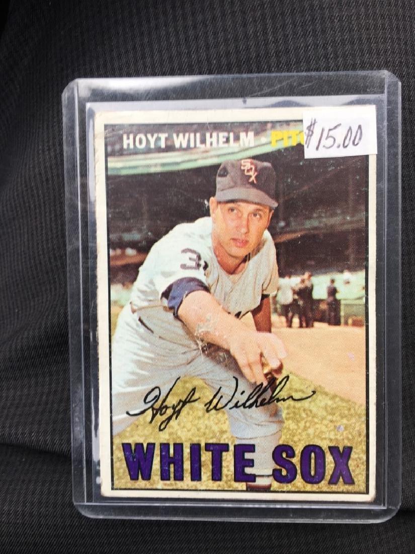 Hoyt Wilhelm 1967 Topps Card