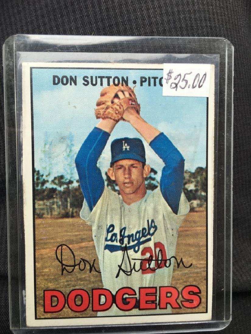 1967 Topps 445 Don Sutton