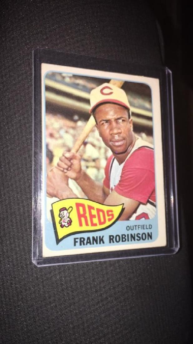 Frank Robinson 1965 topps vintage baseball card