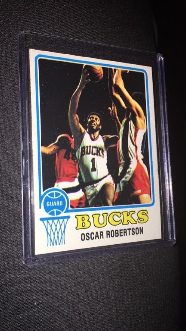 19 73+IBM-74 Oscar Robertson tops vintage basketball